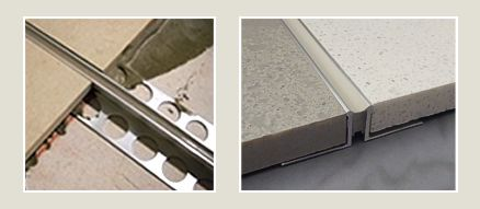 Expansion Joints are Easy to Install
