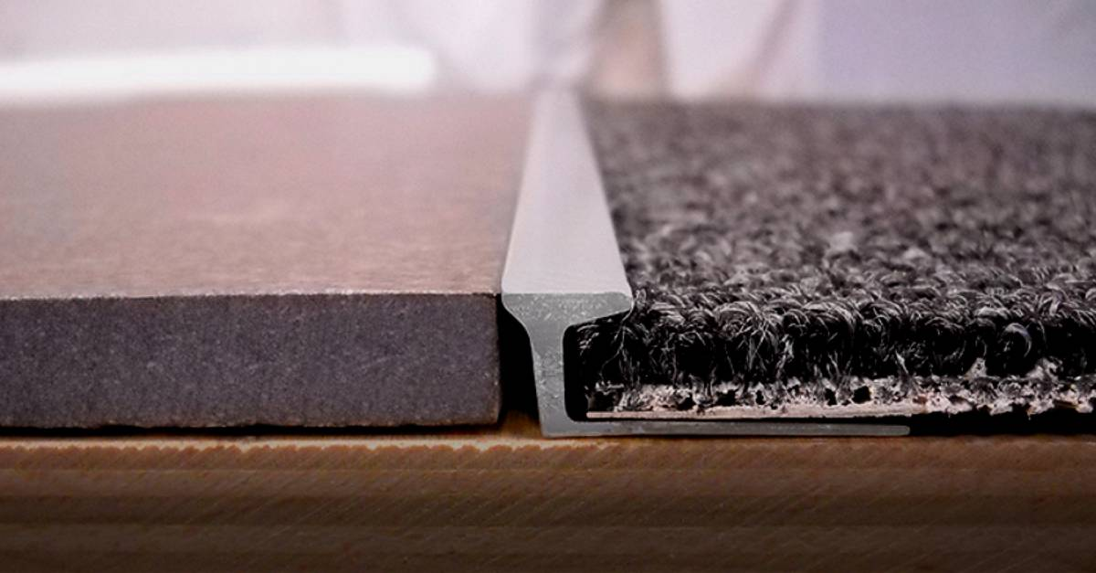 Flooring Solutions With Metal Trims Ceramic Tool Company